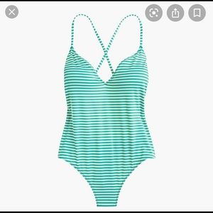 J. Crew Playa Key West One-Piece Swimsuit, XXS